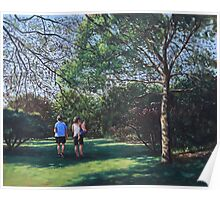Southampton People in Park Poster