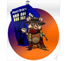 Doctor Who Hamster Jelly baby? Poster