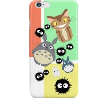 Totoro and Friends iPhone Case/Skin