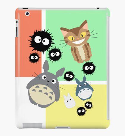 Totoro and Friends iPad Case/Skin