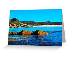 What a Beautiful Day, Cosy Corner, Tasmania Greeting Card