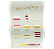 Layered Puddings Poster