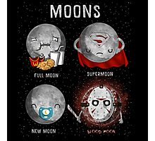 Supermoon Characters Photographic Print