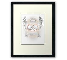 Eros tanatos Framed Print