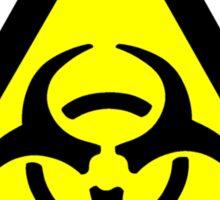 Biohazard Symbol Sticker