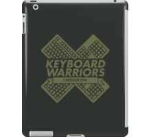 Keyboard Warriors iPad Case/Skin