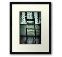 The Church Chair Framed Print