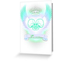 Eros tanatos Greeting Card