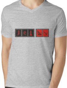 lost hieroglyphs Mens V-Neck T-Shirt