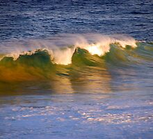 wave of colour by Glen Johnson