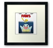 Pokemon Paws Framed Print