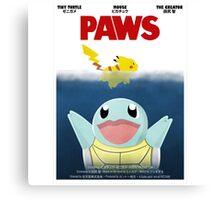 Pokemon Paws Canvas Print