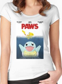 Pokemon Paws Women's Fitted Scoop T-Shirt
