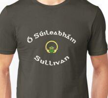 Sullivan Surname 1 - Dark Shirts with Claddagh Unisex T-Shirt