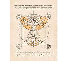 Vitruvian Aang Photographic Print