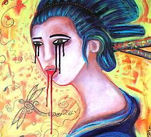 Crying Geisha Tears by Laura Barbosa