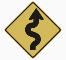 Winding Road Sign by SignShop