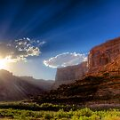 Canyon Sunset by njordphoto