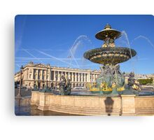 Place de la Concorde, Paris, France Canvas Print
