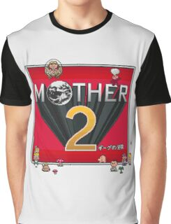 Alternative Mother 2 / Earthbound Title Screen Graphic T-Shirt