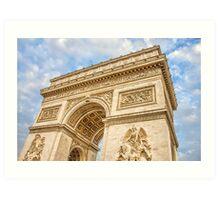 Arc de Triumph, Paris Art Print