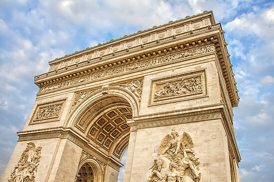 Arc de Triumph, Paris by gianliguori