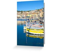 Port of Cassis, France Greeting Card