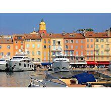 Saint-Tropez, south of France Photographic Print