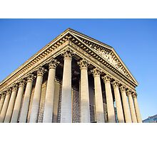 The Madeleine church, Paris, France Photographic Print