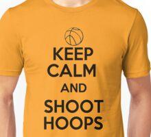 Keep Calm and Shoot Hoops Unisex T-Shirt
