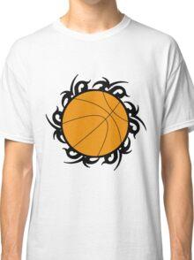 Round Basketball Tribal Classic T-Shirt