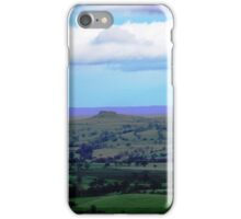 Almscliffe Cragg from Otley Chevin iPhone Case/Skin