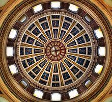 Rotunda - Montana State Capitol  by Sue Morgan