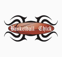 Basketball Chick Tribal by shakeoutfitters