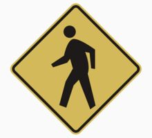 Pedestrian Crossing Sign by SignShop