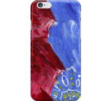 Red Mountain Sun Mandala iPhone Case/Skin