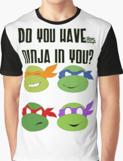 Teenage Mutant Ninja Turtles - TMNT Graphic T-Shirt