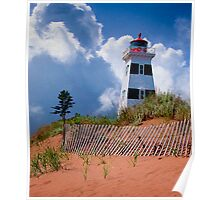 West Point Lighthouse - PEI Poster