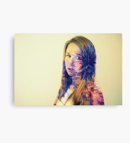 purple layer Canvas Print