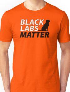 Black Labs Matter - Hunter Orange Unisex T-Shirt