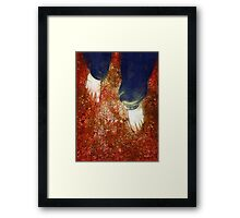 Come Firewalk with Me Framed Print