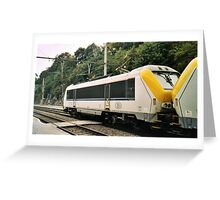 SNCF/NMBS locomotive Greeting Card