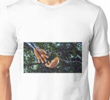 Hands on the Wire Unisex T-Shirt