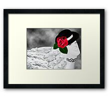 。◕‿◕。 A WINK AND FLOW OF HAPPINESS 。◕‿◕。 Framed Print