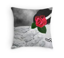 。◕‿◕。 A WINK AND FLOW OF HAPPINESS 。◕‿◕。 Throw Pillow
