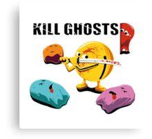 Kill Ghosts Canvas Print