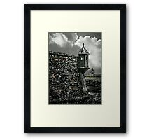 The Guardhouse Framed Print