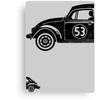 VW Herbie 53 vintage Canvas Print