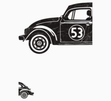 VW Herbie 53 vintage One Piece - Short Sleeve