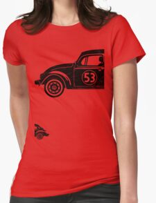 VW Herbie 53 vintage Womens Fitted T-Shirt
